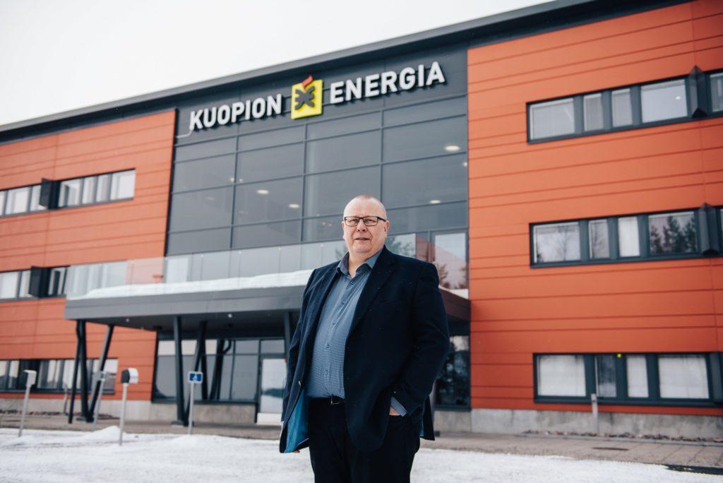 Kuopion Energia Esa Lindholm