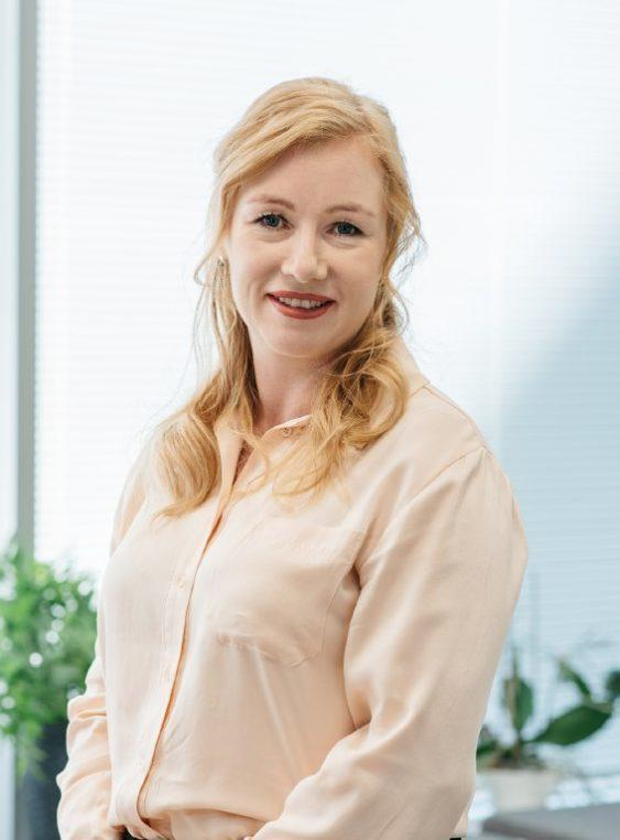 Well3 Oy:n toimitusjohtaja Johanna Huhta