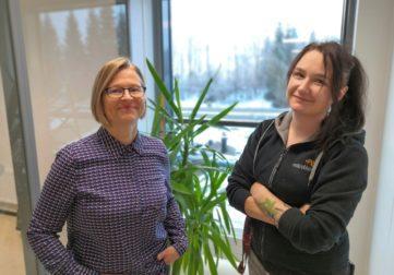 Teija Meklin ja Katja Papinniemi Mikrobioni Oy